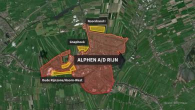 Woningen in Gnephoek, Noordrand of Oude Rijnzone