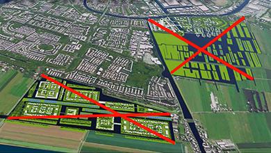 Provincie: geen bebouwing Gnephoek en Vierambachtspolder